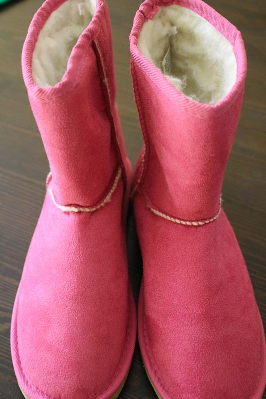 My stylish and warm pink slippers!