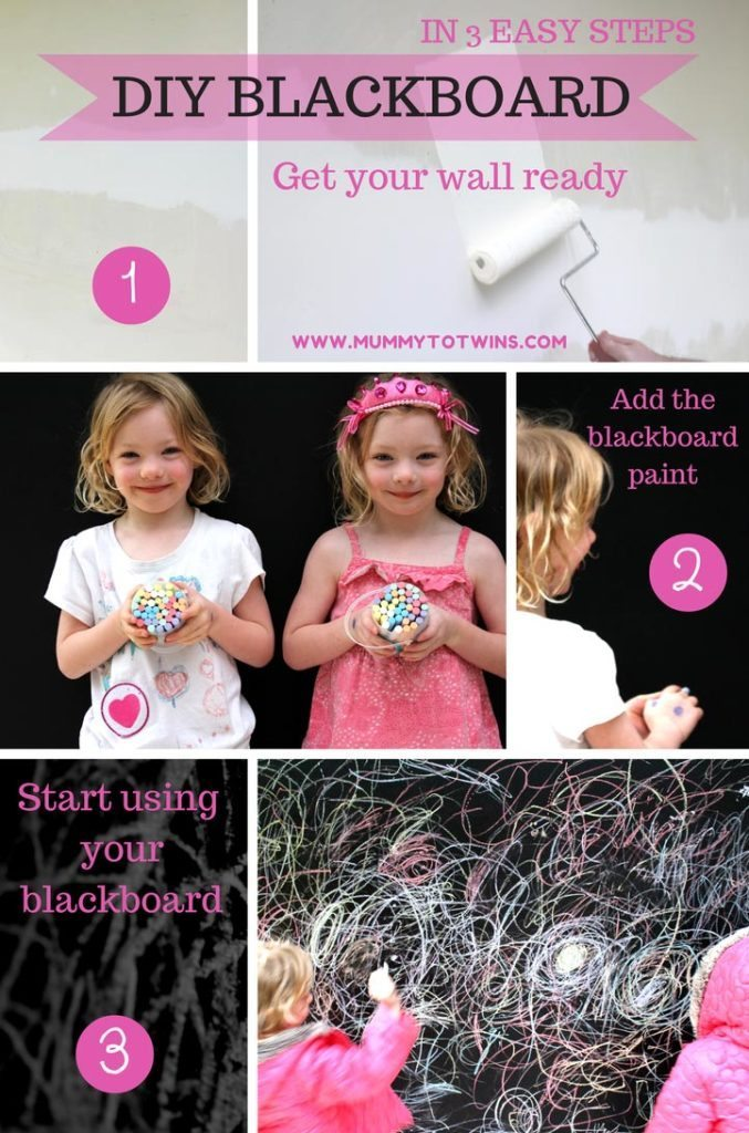 DIY Blackboard in 3 Easy Steps