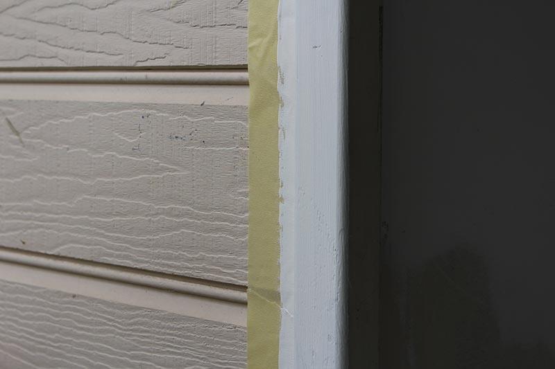 Adding the blackboard paint