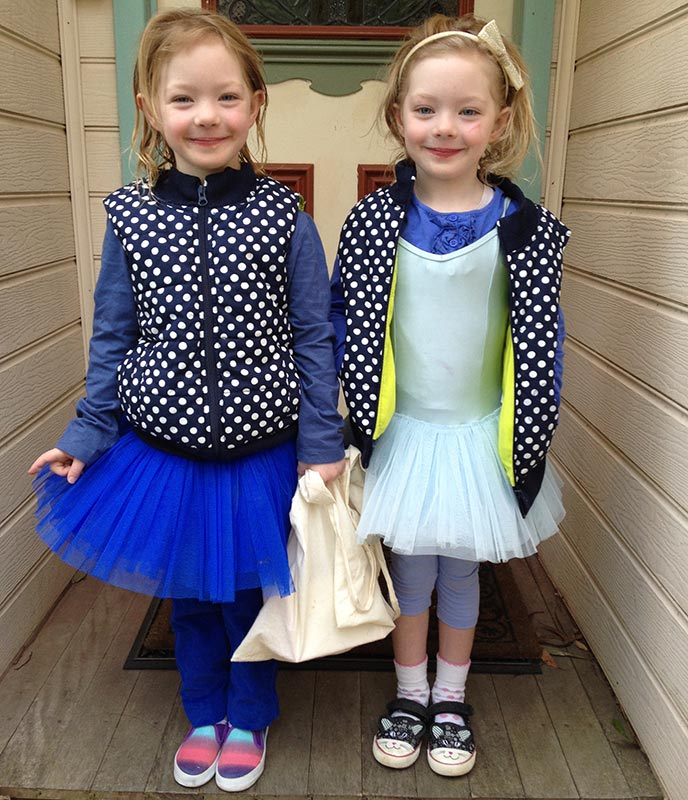 """The girls wearing blue to raise money for the """"Asthma Foundation"""". Today was last day of term and of course mufti day. Each girl gave a $2 coin towards to the cause and we hope it helps with awareness, education and helping those with asthma."""