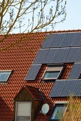 Solar panels. Image courtesy of franky242 / FreeDigitalPhotos.net
