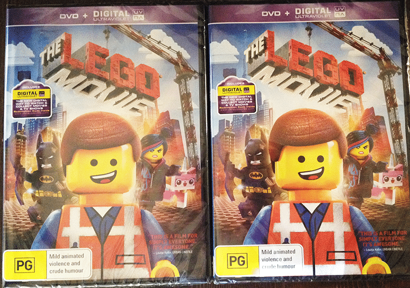 2 Lucky readers will get a DVD copy of The LEGO Movie