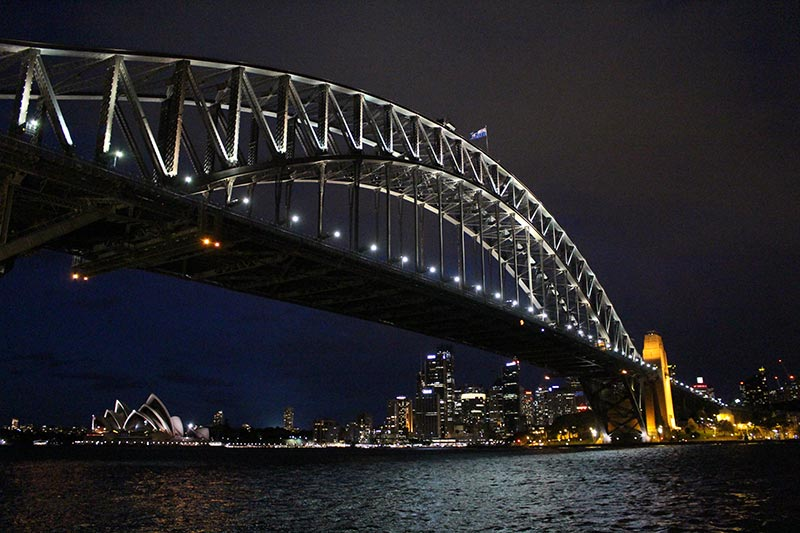 Managed a great shot of the Harbour Bridge, Opera House and city while on the ferry. Hubby did a great job with these shots.