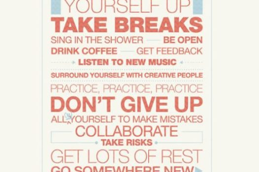 Tips to Stay Creative