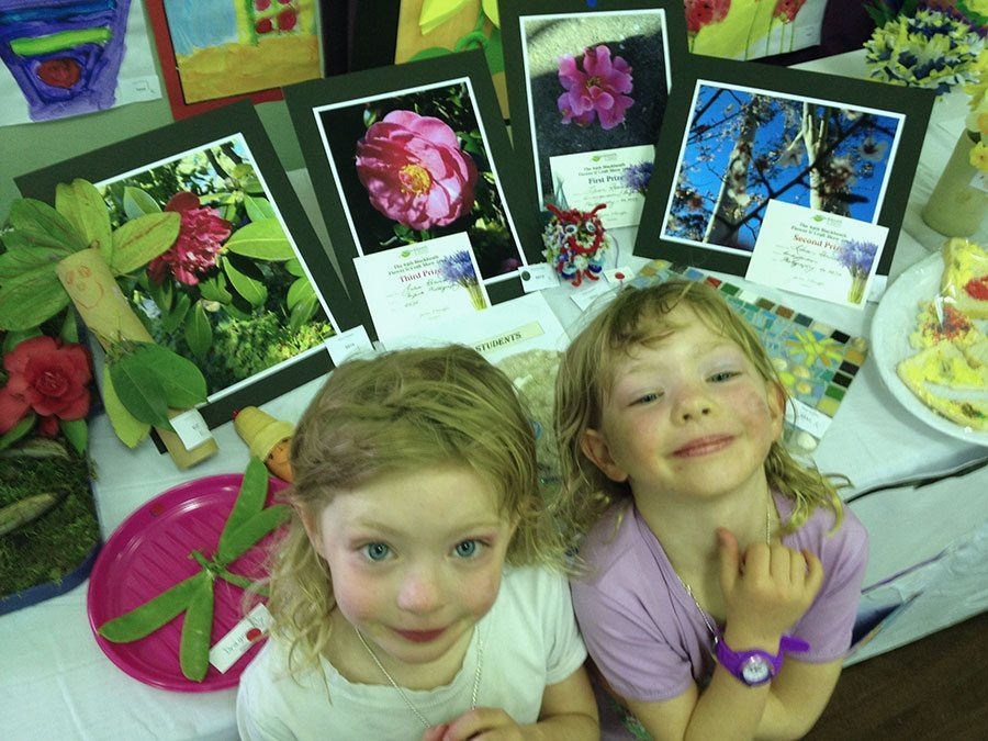 We went to the show and discovered the girls got awards. Well done girls!