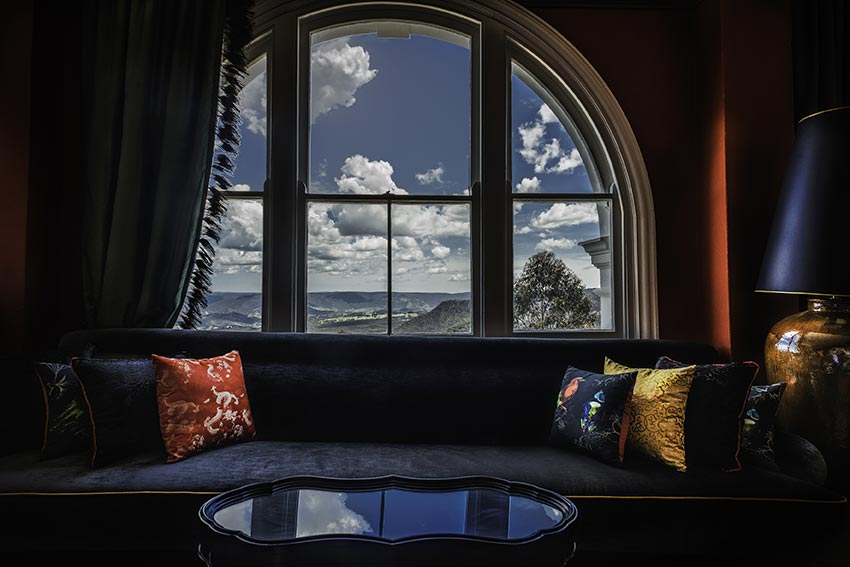 Great view from the The Hydro Majestic. Image by David Hill, Blue Mountains Lithgow & Oberon Tourism