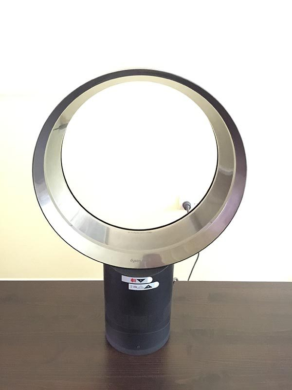 My Dyson Cool. It is so very cool and amazing! It has no blades so little fingers will not get injured. It is also so quiet when it is on.