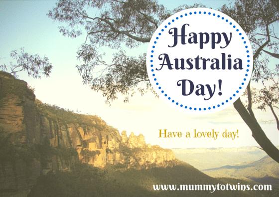 Happy Australia Day! Have a wonderful Day.