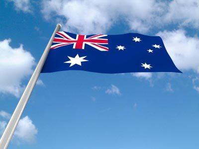 Australian Flag. Image courtesy of Salvatore Vuono at FreeDigitalPhotos.net
