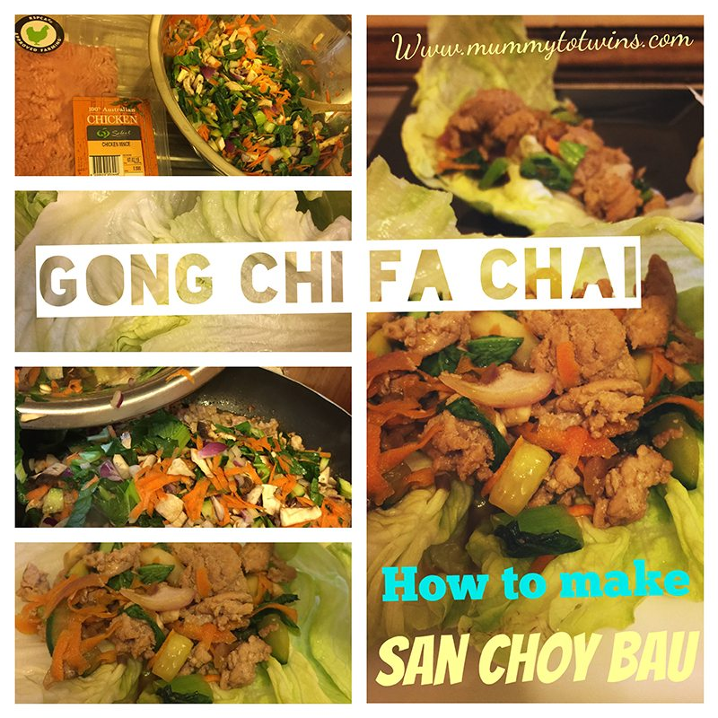 Make yummy San Choy Bau and celebrate Chinese New Year!