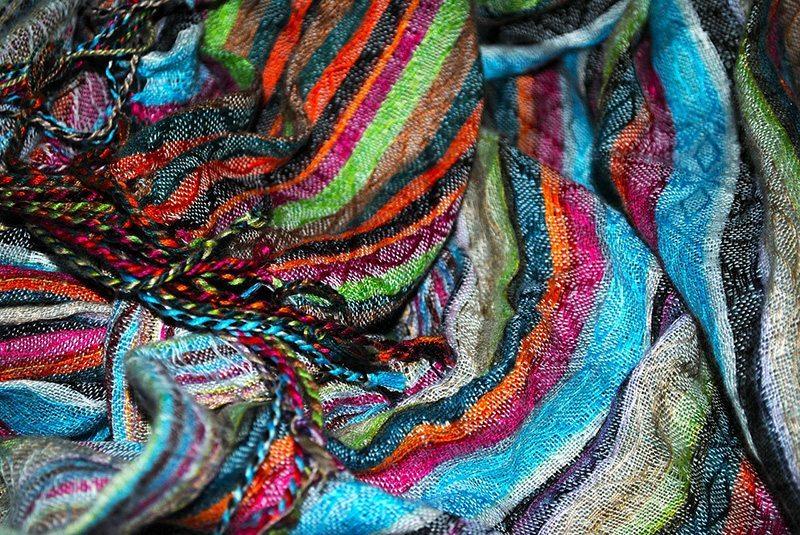 Patterned scarfs