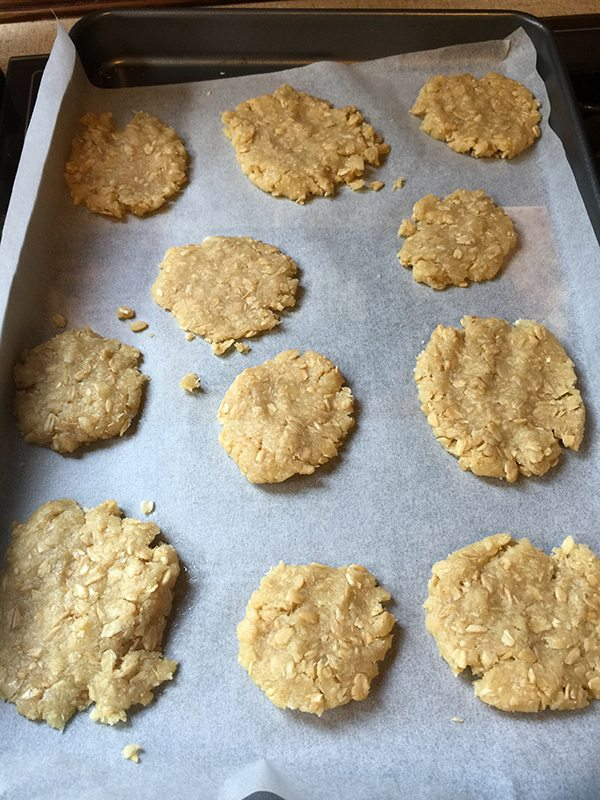 Kids helped me make this batch. All ready to go in the oven.