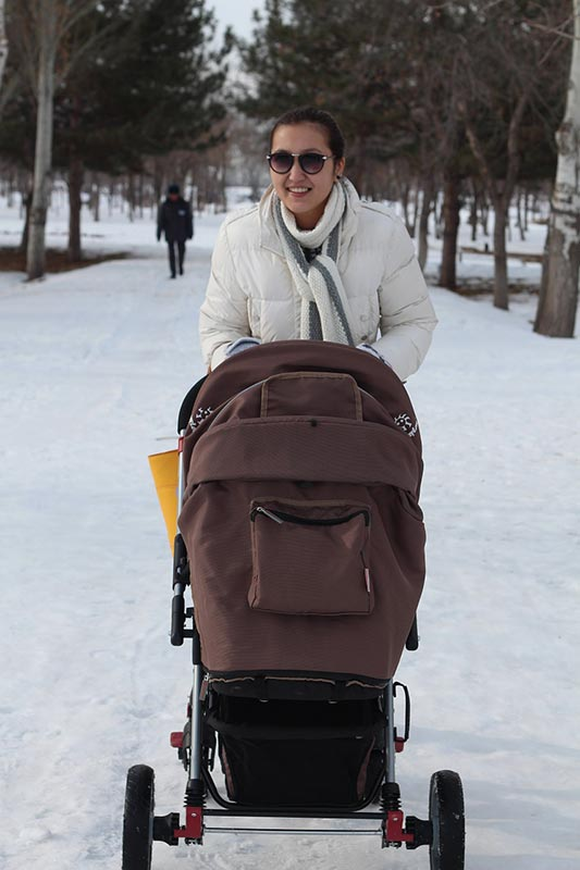 Getting out and about with your new baby