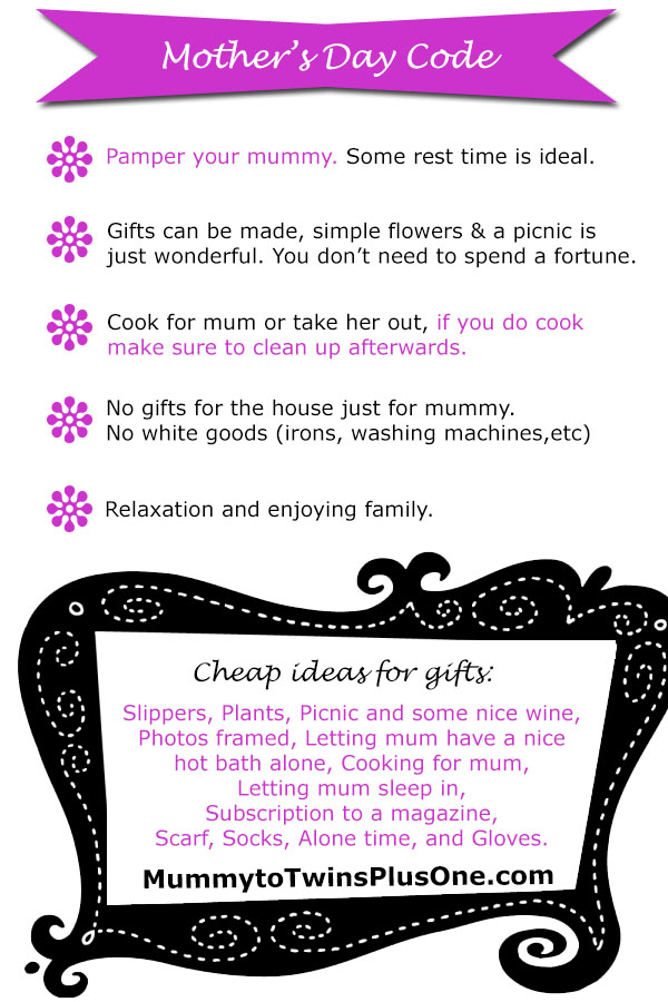 The Mother's Day Code