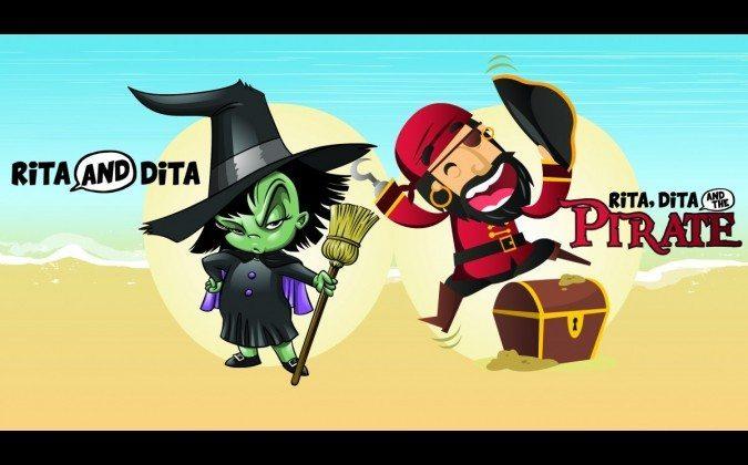 Festival of Voices - RITA AND DITA + RITA & DITA AND THE PIRATE. Image from the Festival of Voices website.