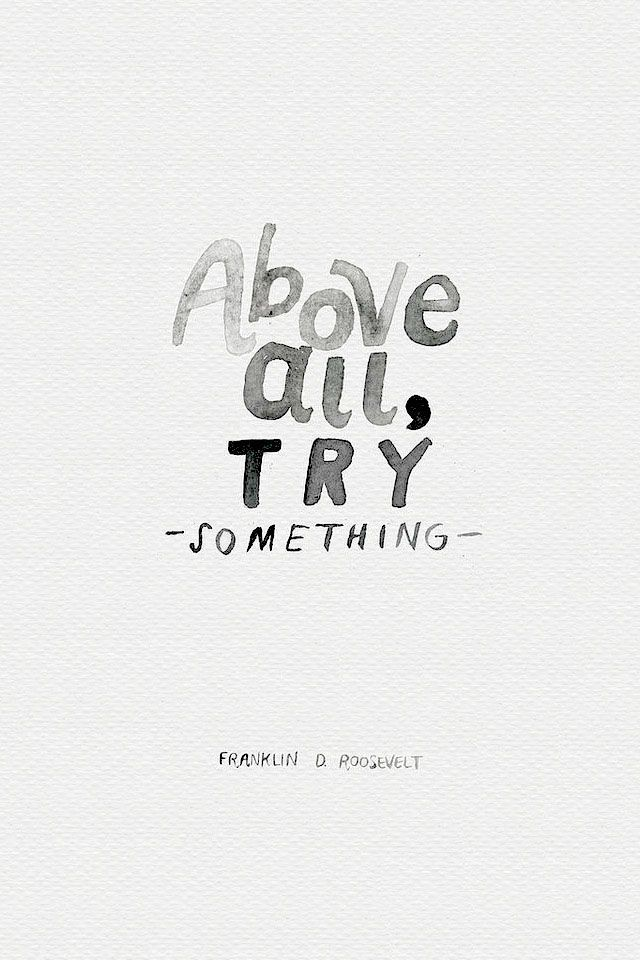 Just give things a go. If you try something you might be good at it and it will all work out. You never know until you try!