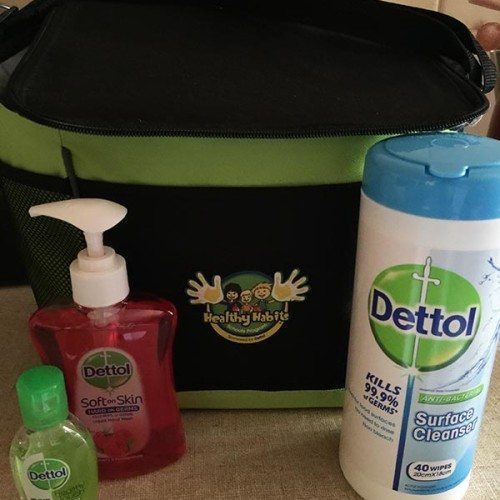 The lovely people at Dettol sent me this care pack so we can not get sick this winter. It has helped and with us getting a cold while on our holidays I have used this to ensure we don't get anymore nasties.