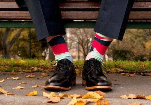 Soxy Beast socks designed by Melbourne artist Lindsay Blamey.