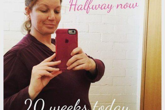 20 Weeks – Half Way Now!