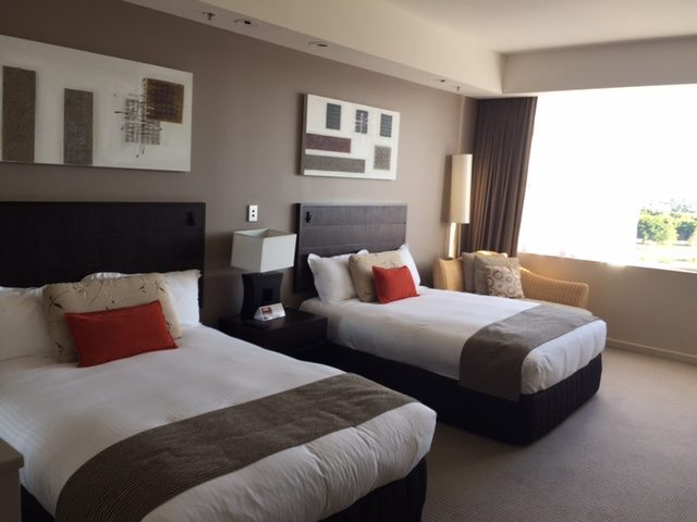 My fabulous room at the Royal Pines on the Gold Coast