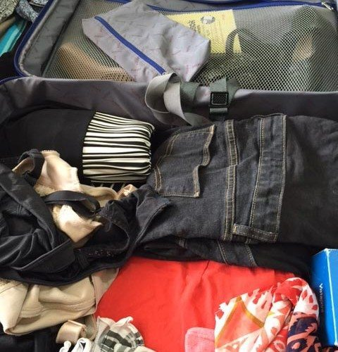Packing for my trip to Problogger. Think I am nearly finished.