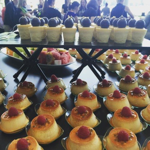 The yummy treats at Problogger. You do get very spoilt and they were all so yummy!
