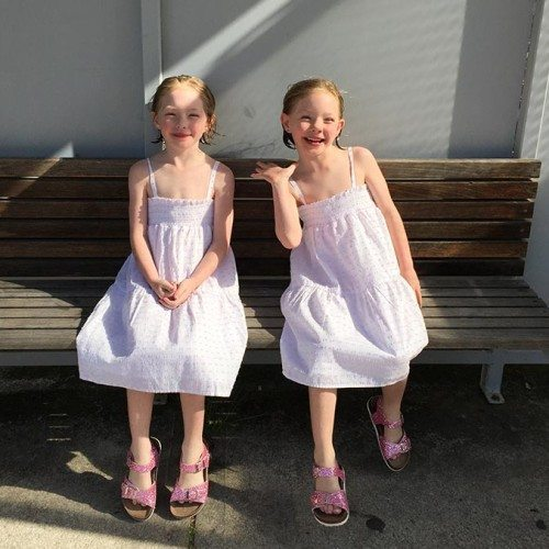Pretty cotton summer dresses from Mix Apparel. The kids loved this after their swim and it made them much cooler due to such a hot day.