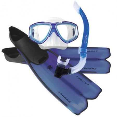 Ocean Pro Thrust Mask, Snorkel & Fin Set