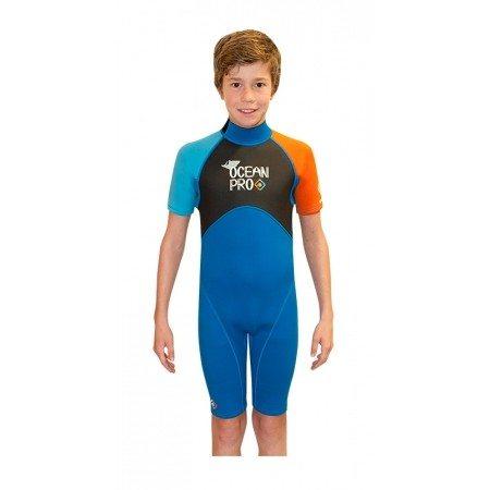 Ocean Pro Grommet Shortie Orange/Blue
