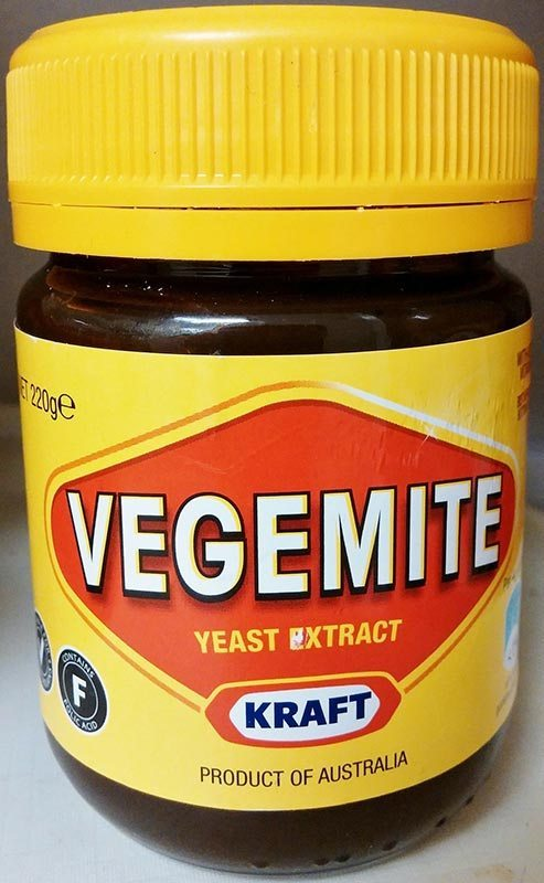 Yummy Vegemite for tasty sandwiches for the kids. Oh and maybe for me!