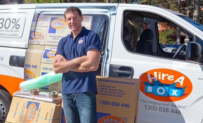 You can hire boxes or buy them. Fast service and you can get the boxes delivered.