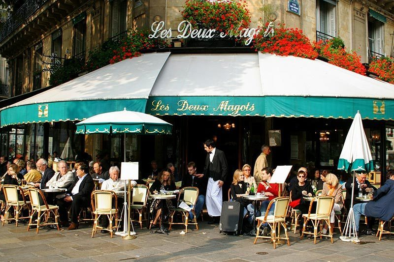 A Paris Cafe. I can see myself having a bite to eat or just having a relaxing drink and watch the world go by.
