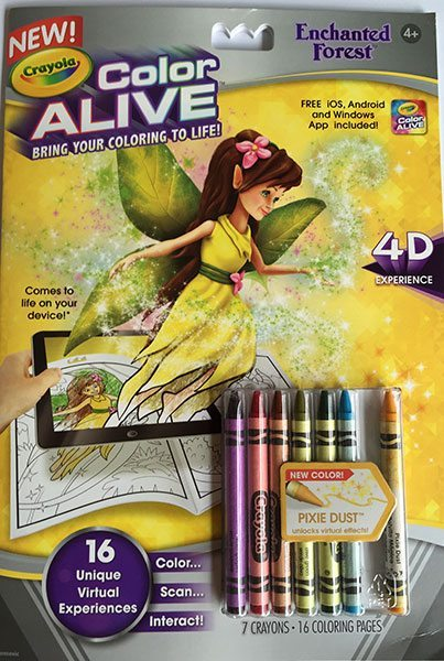 Enchanted Forest Crayola 'Color Alive'