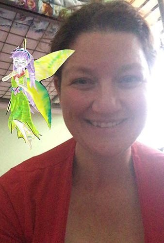 Yes even I had a picture with the fairy.