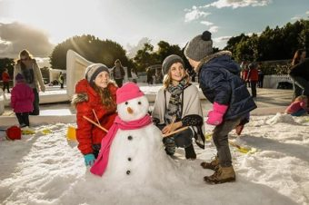 WIN: A Family Pass to Snow Time in The Garden