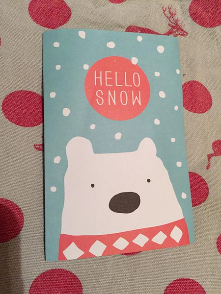 The cute pack from Hello Snow