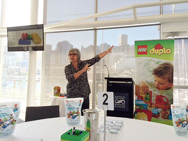 Hanne Boutrup was brilliant and really had everyone energised about LEGO DUPLO and how it helps children worldwide.