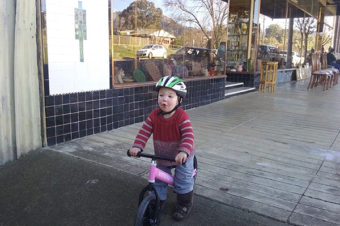 Little Nation Balance Bike Helps With Confidence