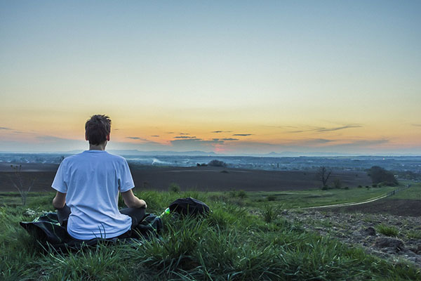 I need to also concentrate and de-stressing (constantly on the go and a noisy house it is nice to have some time with no one and no noise) and some quiet time to meditate and to recharge is a great. It allows me to have more energy to be with the kids and for myself.