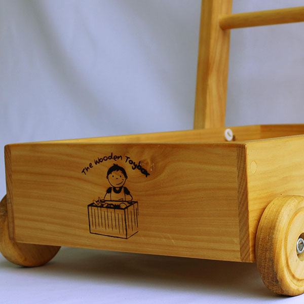 All The Wooden Toybox toys are well made and built to last. The Toddle-Truck is ideal for little people trying to walk and for storing much loved toys in when they are on the move.