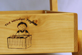The Wooden Toy Box Makes Learning Fun