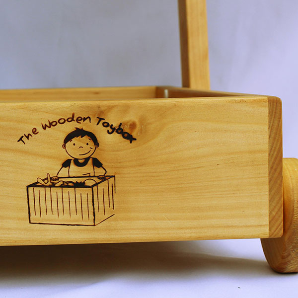 The Toddle-Truck from The Wooden Toybox