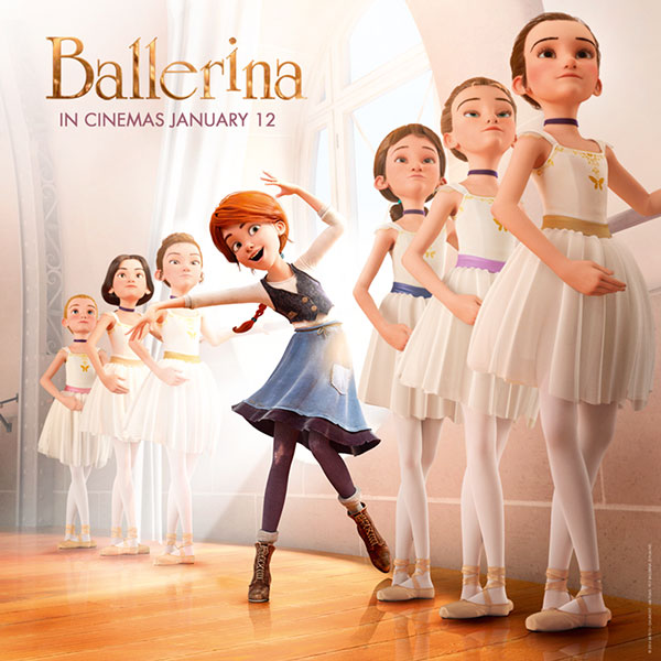 BALLERINA in cinemas January 12th 2017.