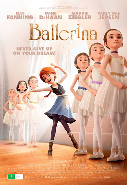 Win a 2for1 pass to see BALLERINA at the movies. 10 readers have a chance to win.
