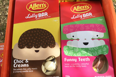 WIN a Limited Edition ALLEN'S Lolly Pack