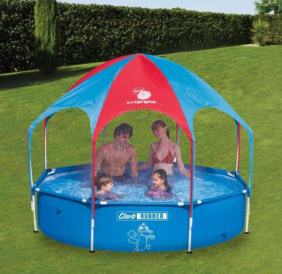 Splash and Shade Wading Pool from Clark Rubber. One Reader can win this for the summer holidays!
