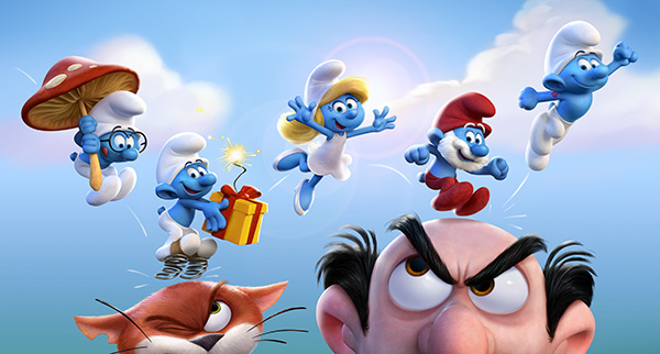 Win tickets to see The SMURFS: Lost Village and a Smurf Prize Pack