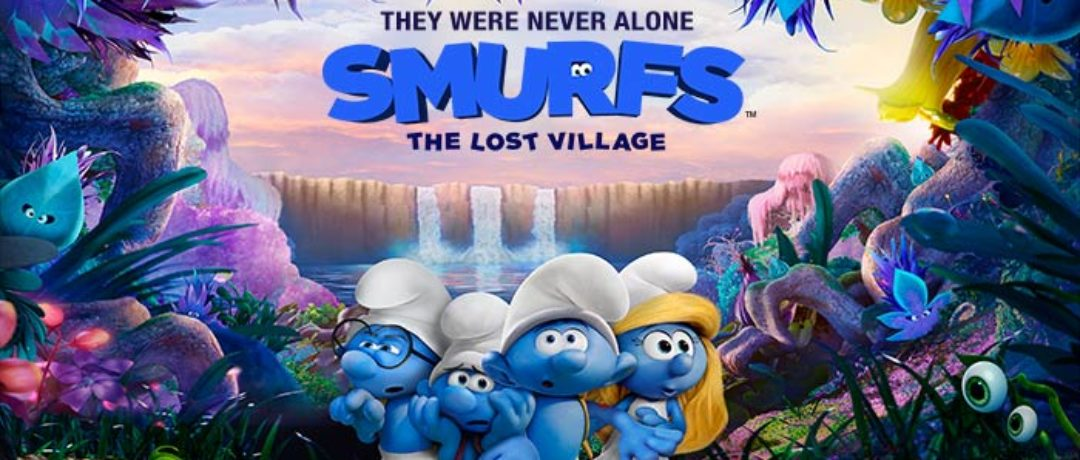See SMURFS: The Lost Village and WIN SMURF Goodies!