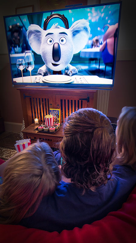 Movie nights are so much fun, especially with a fun film like SING.