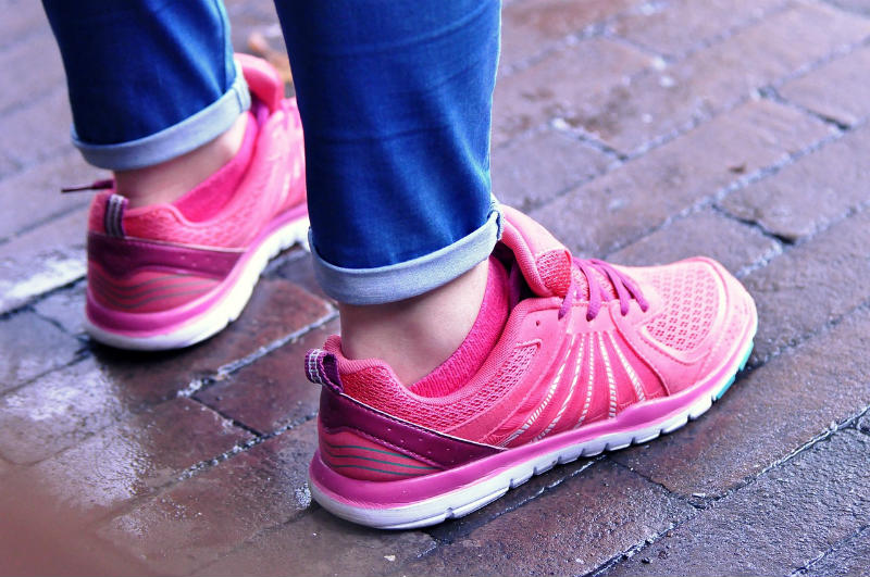 Take a walk and feel great. Any time walking is always great.